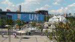 Auch die UN hat ihren eigenen Pavillion! Desweiteren gibt es ein Organisationspavillion, wo z.B. die WWF vertreten ist.