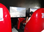 Für Kinder gibt es noch den 3D-Auto-Simulator.