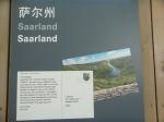 Hier die Postkarte des Saarlands