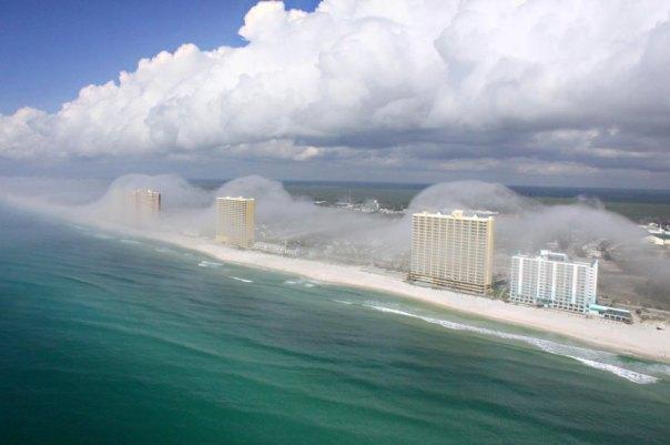 Golfküste Florida / Dunst / WISSENSCHAFT