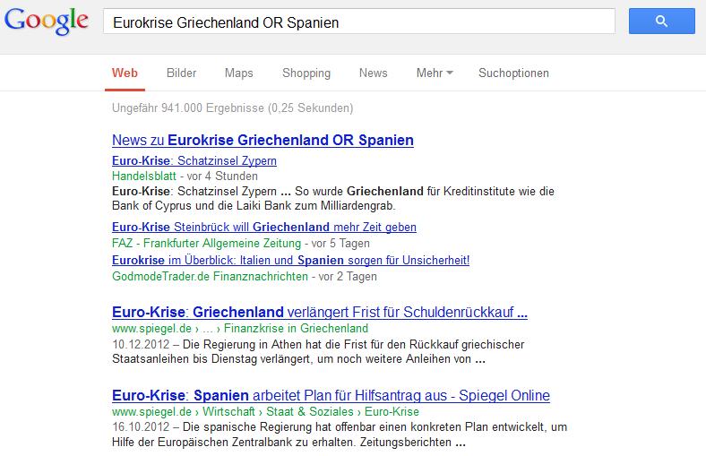 google eurokrise