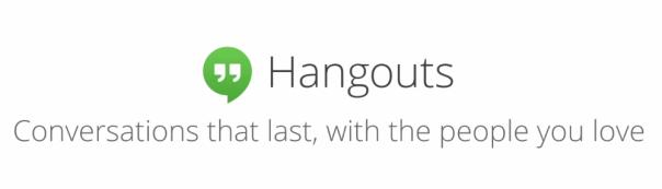 google hangouts header