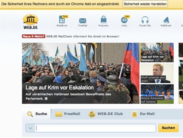 GMX und Web.de warnen vor angeblich bedrohlichen Werbeblockern