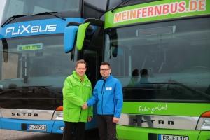 Zusammenschluss von MeinFernbus und FlixBus